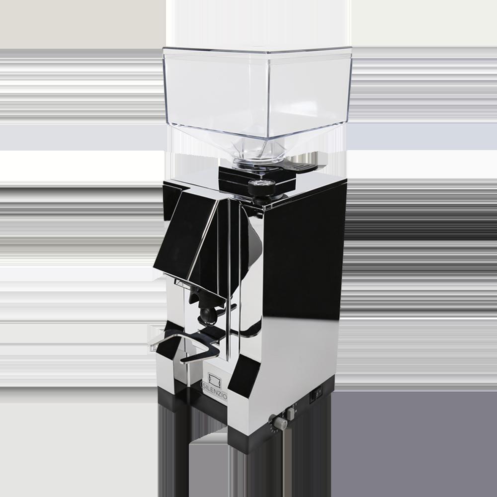 Eureka Mignon Silenzio Kaffeemühle (Chrom)