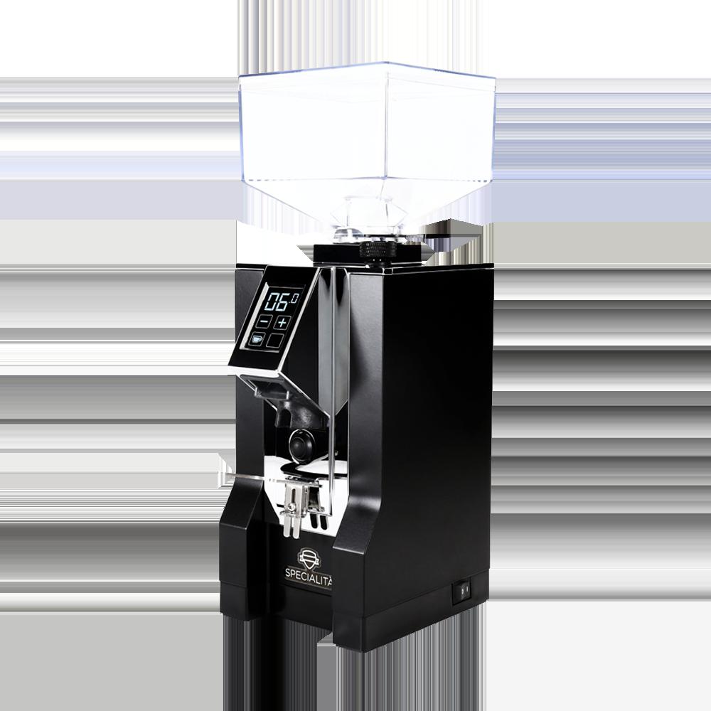 Eureka Mignon Specialita Kaffeemühle (Mattschwarz/Chrom)