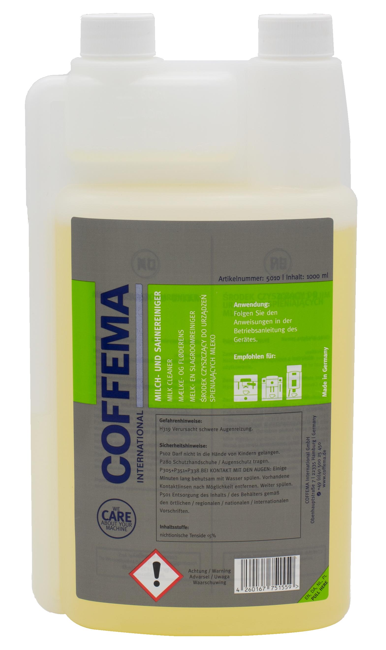 Coffema 1 Liter Milchsystemreiniger