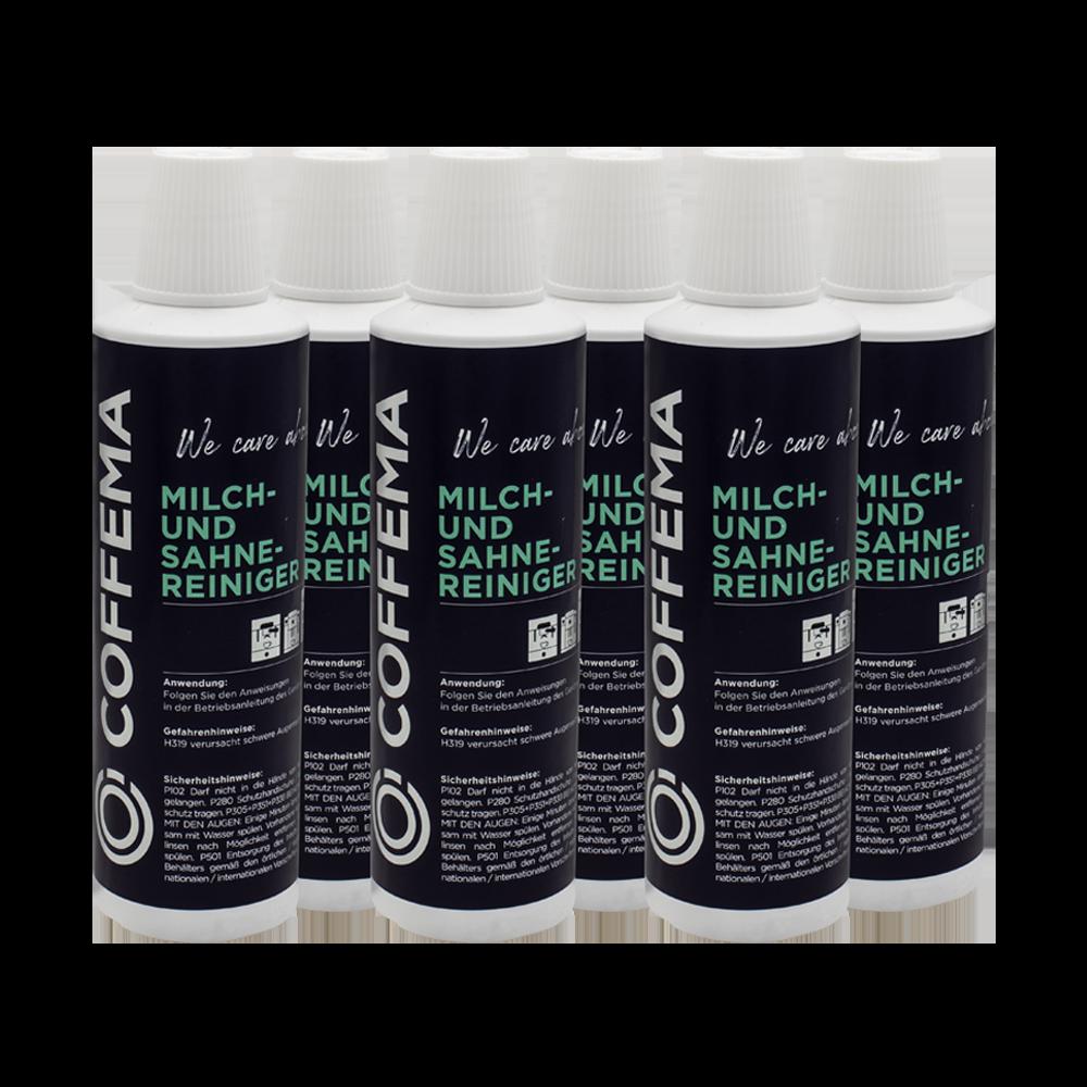 Coffema 6 x 0,5 Liter Milchsystemreiniger