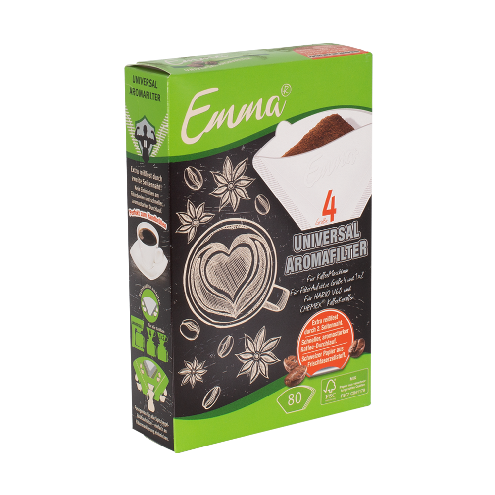 Filterpapier Emma® (80 Stück)