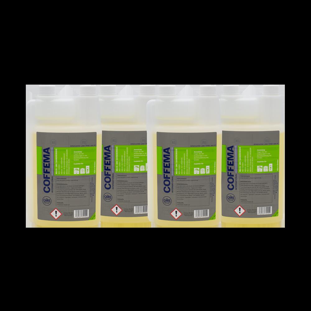 Coffema 4 x 1 Liter Milchsystemreiniger