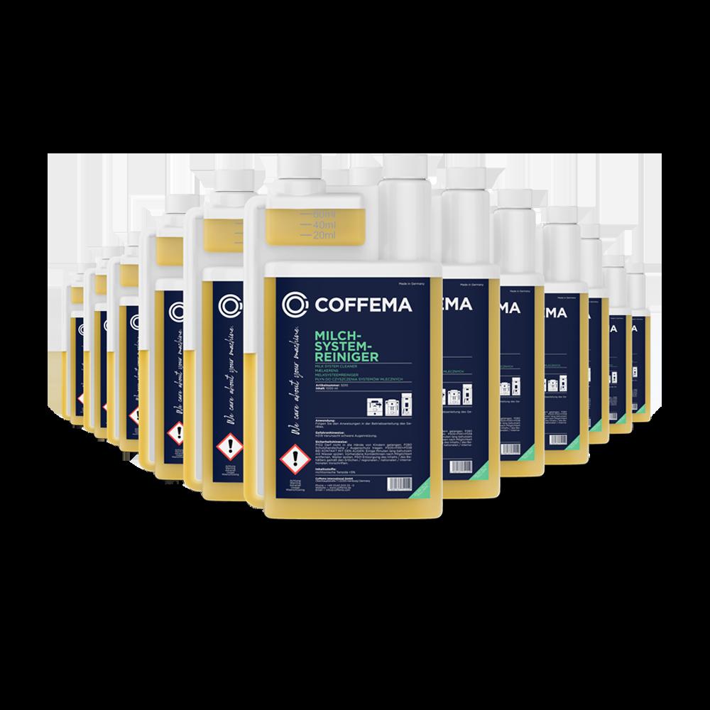 Coffema 12 x 1 Liter Milchsystemreiniger